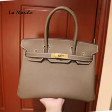 017 fashion luxury brand runway head layer leather bag jacket high-end ladies handbag CL702184