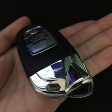 Smart Remote Key Shell Case For Lamborghini Aventador Keyless Entry Fob Key Cover (With Insert Small Key Blade)