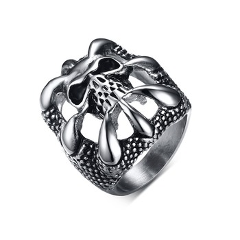 Bague motard griffe de Dragon