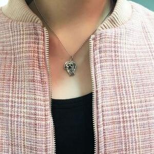 Image 4 - Индивидуальное изготовление на заказ, фото, драгоценности, ожерелье педант DIY с собакой, Очаровательное ожерелье с животными, ювелирные изделия
