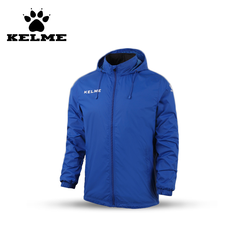 KELME New Long Sleeve Soccer Jersey Football Jerseys Jacket Hooded Uniforms Training Survetement Futbol Tracksuit 08  kelme top quality survetement football waterproof jackets soccer uniform athletics jogging training soccer champions windcoat 28