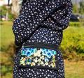 El nuevo Venir de Múltiples bolsas de Cintura de Las Mujeres! Nuevo Vintage bordado Étnico bordado bolsa de lona paquetes de la cintura Floral hombro portátil bolsa