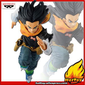 """Image 1 - 100% originale Banpresto FIGURA DEL MONDO COLOSSEO Tenkaichi Budoukai BWFC 2 vol.3 Collezione Figura Android No.17 """"Dragon Ball Z"""""""