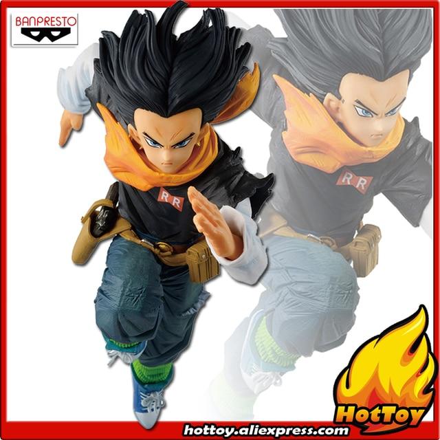 """100% originale Banpresto FIGURA DEL MONDO COLOSSEO Tenkaichi Budoukai BWFC 2 vol.3 Collezione Figura Android No.17 """"Dragon Ball Z"""""""