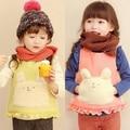 Free Shipping  girl spring/autumn waistcoat  vests children fleece baby cartoon  vest