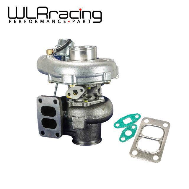 US $142 57 7% OFF|WLR RACING TURBO KKR480 Turbocharger  RB20/RB25/13B,A/R: 50 cold,70 hot t3 flange t3/t4 bearing housing MAX  HP:450HP TURBO43-in Turbo