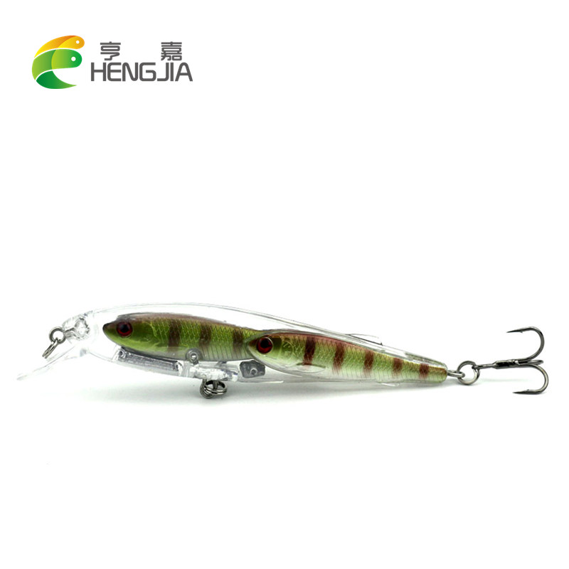 Hengjia 1pc minnow wobbler fishing lures fishing tackle for Best bait for freshwater fishing