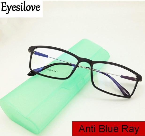 9974e06efb Eyesilove women Anti blue ray myopia glasses men anti blue light ...