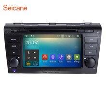 Android 7.1.1 Radyo DVD GPS Navigasyon Stereo için 2004-2009 Mazda 3 Destek CD Çalar Bluetooth WIFI USB Dokunmatik Ekran Yedekleme kam