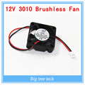 10pcs High quality 3010s 30MM 30 x 30 x 10MM 12V 2Pin DC Cooler Small Cooling Fan FOR 3D PRINTER PART  with free shipping