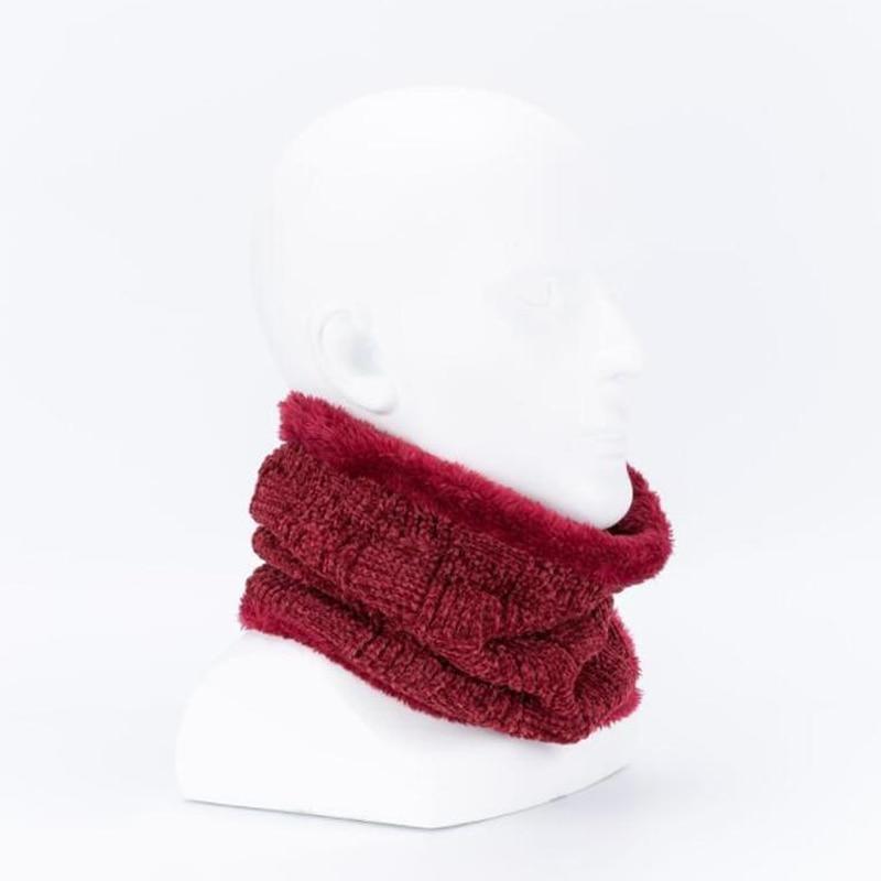 Scarves Winter Solid Fashion Chenille Thickened Keep Warm Collar Scarf Unisex Neckchief