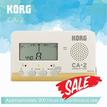 KORG CA2 Compact Chromatic Tuner Bass/Saxophone/ Violin/ Flute Tuner Universal Tuner [ideal for brass band or orchestra]