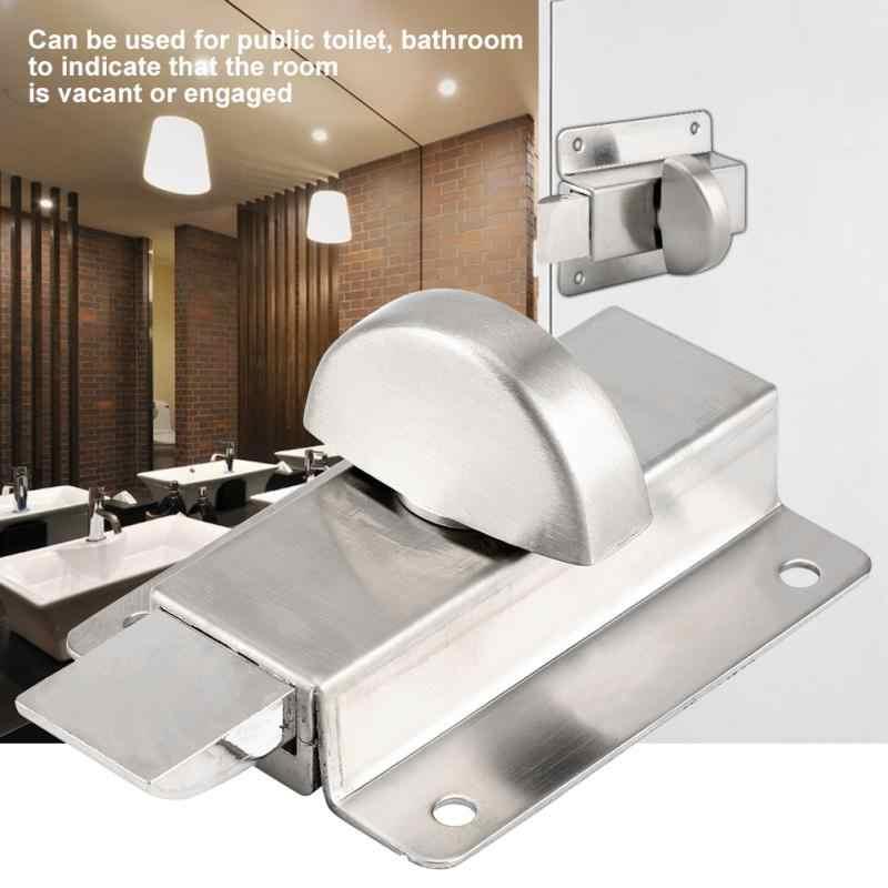 Туалет индикатор закрытой двери ванная комната туалет конфиденциальности болт двери защелки w/индикатор домашний туалет дверная фурнитура cerradura пуранта