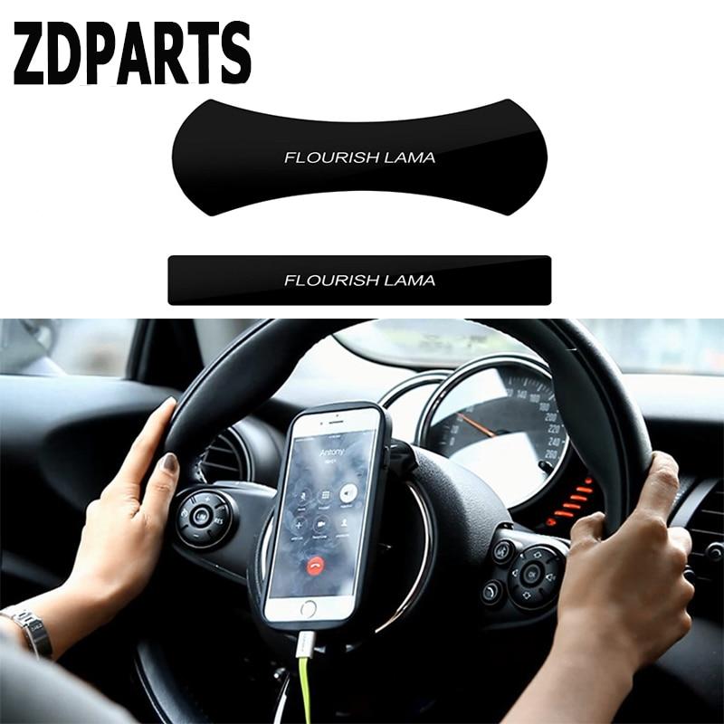 ZDPARTS Car Styling Sticker Pad MultiFunction Phone Holder For Skoda Octavia A5 A7 2 Rapid Fabia Yeti Superb Volvo V70 XC60 XC90 steering wheel phone holder