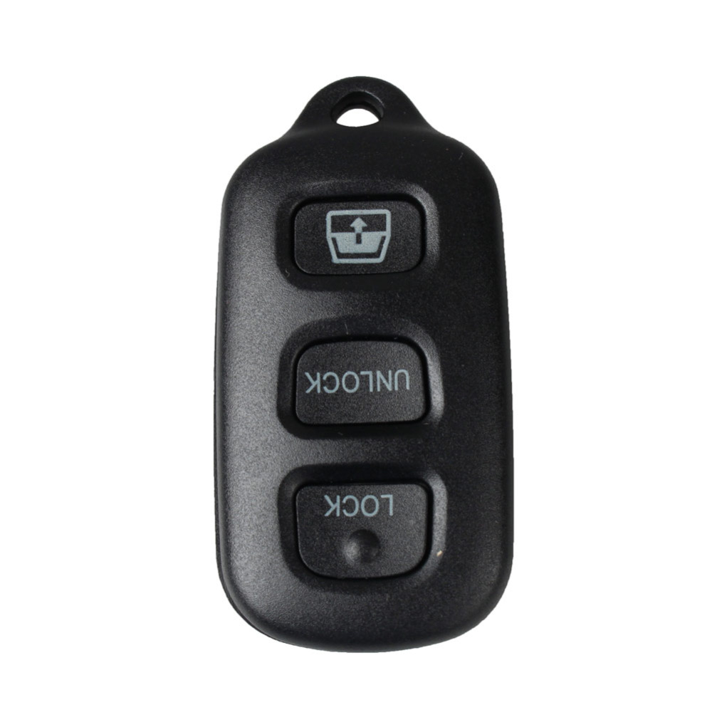 IZTOSS 4 Buttons Panic Replacement Keyless Remote Key Shell Pad Loop Case Key Fob Repair Housing Fix For Toyota