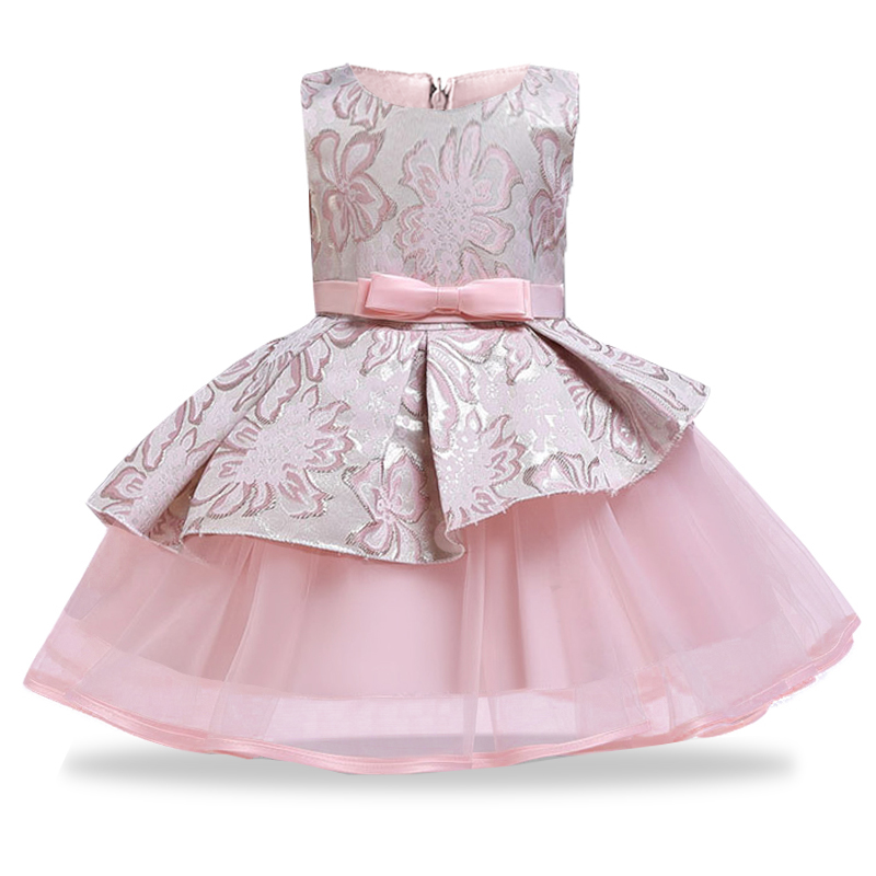 Mesh fluffy   dresses   for   girls     flower   party gown   dress   pageant ball gown for kids First communion   dresses   vestido comunion