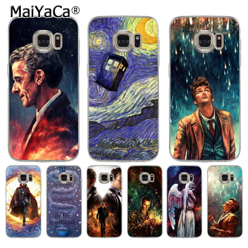 MaiYaCa Tardis Box Doctor who Coque Shell Phone Case for Samsung S5 S6 S7 Edge S8 Plus S6 Edge Plus S3 S4