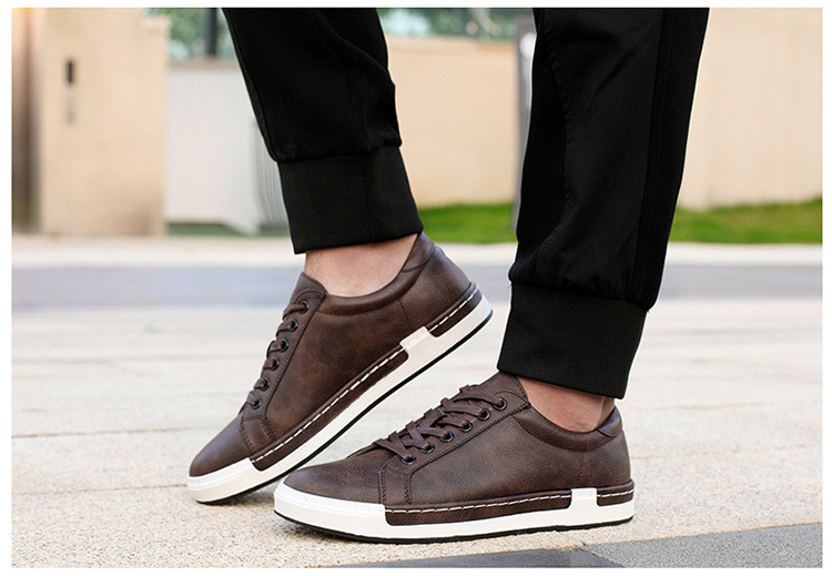 HTB1DfiwacrrK1RjSspaq6AREXXaq Gentlemans Luxury Leather Shoes Men Sneakers Men Trainers Lace-up Flat Driving Shoes Zapatillas Hombre Casual