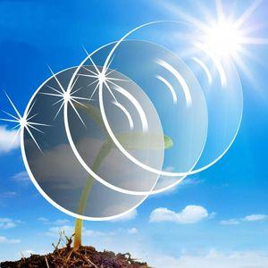Image 1 - Gafas de sol graduadas multifocales graduadas para miopía, presbicia Anti UV transparentes para lentes ópticas, Anti rayos azules, Anti radiación