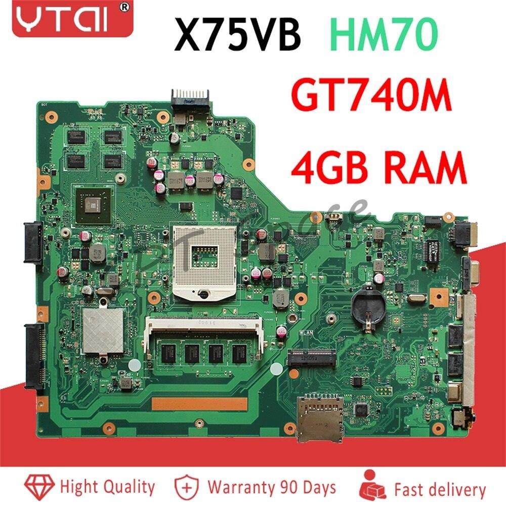 X75VB scheda madre REV: 2.0 Per ASUS X75VB X75VC X75V X75VD scheda madre Del Computer Portatile mainboard GT740M 4 GB con scheda graficaX75VB scheda madre REV: 2.0 Per ASUS X75VB X75VC X75V X75VD scheda madre Del Computer Portatile mainboard GT740M 4 GB con scheda grafica