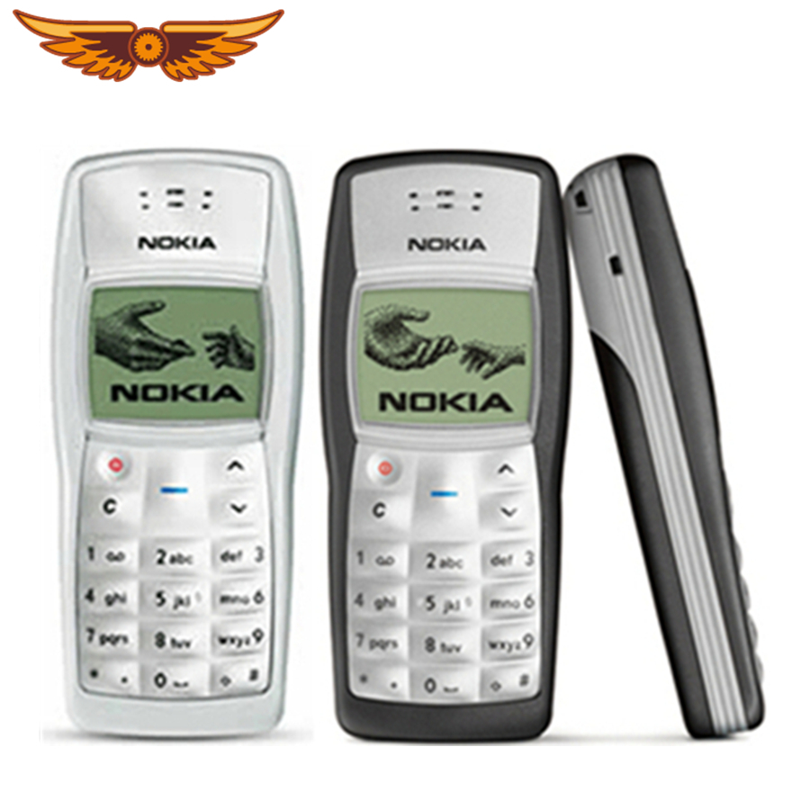 1100 Cheapest Original Unlocked Nokia 1100 Black Color Only Refurbished Mobile Phone Free Shipping(China)