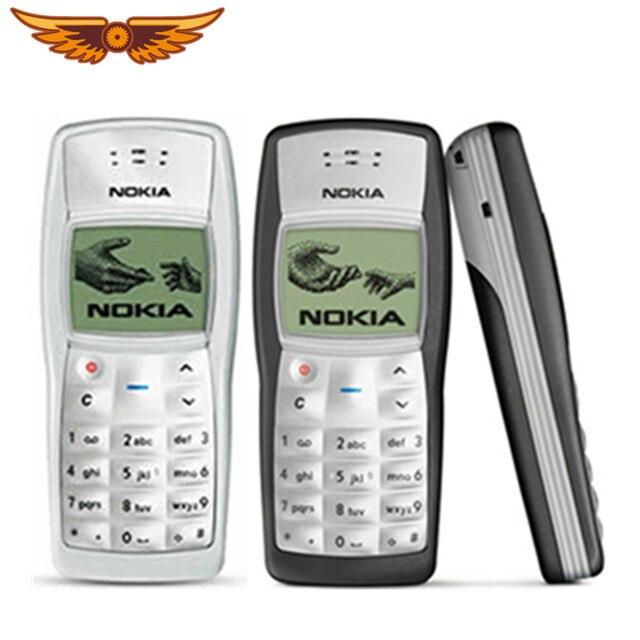 1100 הזול המקורי סמארטפון נוקיה 1100 שחור צבע רק משופץ טלפון נייד משלוח חינם