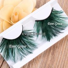 ICYCHEER Fancy Long False Feather Eyelashes Makeup Eye Lashes Party Extension Cosmetics