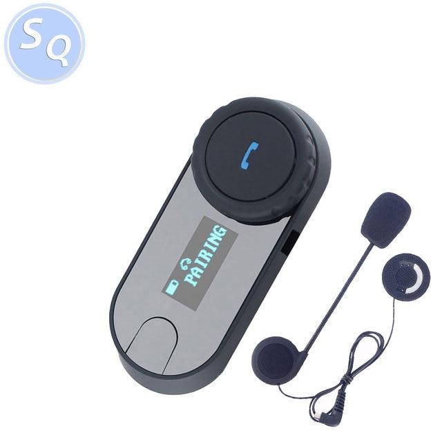 LCD Screen FM TCOMSC HIFI Sound Direct Talk DSP Full Duplex interphone helmet headset motorcycle intercom bluetooth
