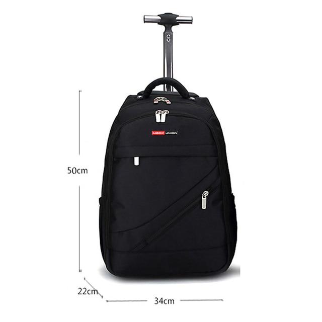 MAGIC UNION Trolley School Bags boy Backpacks Brand Design Teenagers Best Students Travel Business Waterproof Schoolbag 5