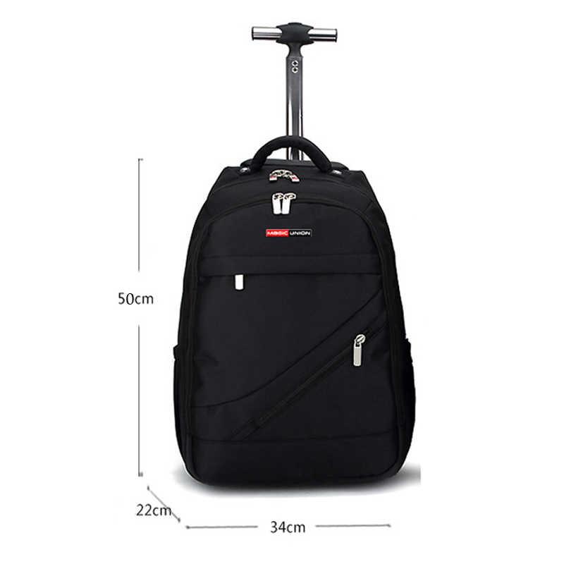 Волшебный союз школьная сумка-тележка рюкзак для мальчика брендовые дизайнерские подростков лучших студентов путешествия Бизнес Водонепроницаемый школьный