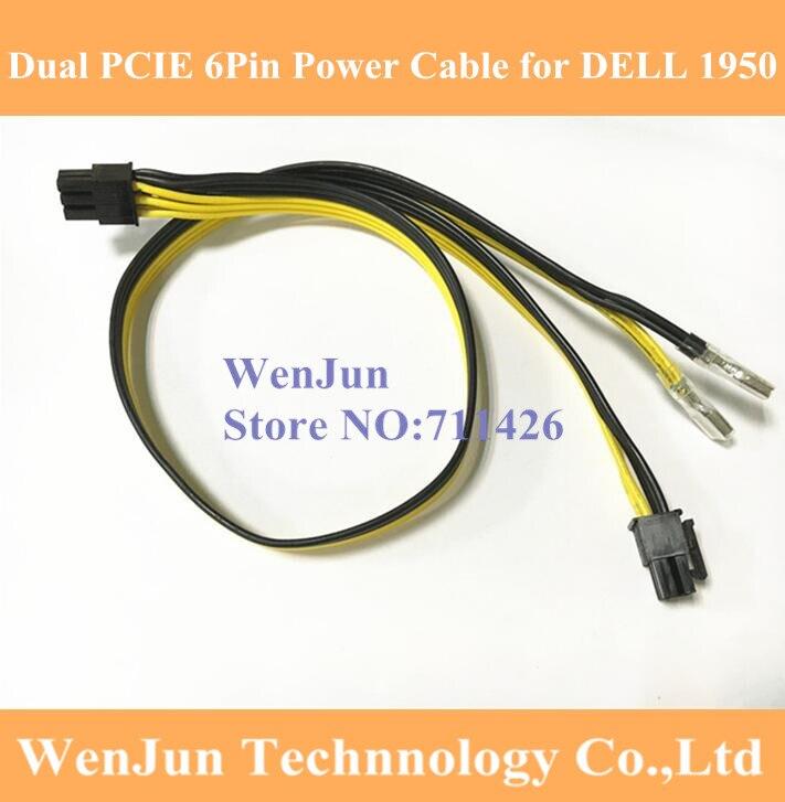 New Dell R740 R740xd GPU Power Cable Riser to GPU 04VPD3 4VPD3