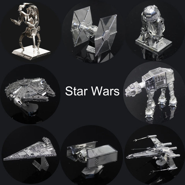 Star Wars 3D Metal Puzzles