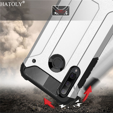 Huawei Honor 20 Lite Case Silicone Rubber Armor Hard PC Back Phone Cover For