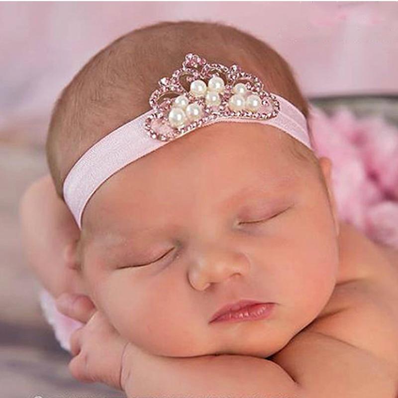 TWDVS Fashion Headwear Lace Flower Hairband Kids Headband Hair Bands Newborn Hair Accessories 4 Colors  W--018