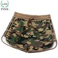 LIKEPINK 2017 Leisure Shorts Women Military Camouflage Print Summer Sexy Short femme ete Elastic Band Ladies Workout Shorts S~XL
