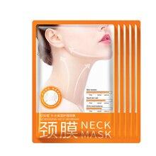 Bioaqua 5pcsNeck Mask Anti wrinkle Whitening Moisturizing No