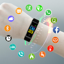 Sport Bracelet Smart Watch Women Men Smartwatch For Android IOS Electronics Wach Clock Smart Band Fitness Tracker New Smartband