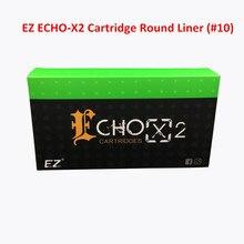 EZ ECHO-X2 Cartridge #10(0.30mm) Round Liner 1005RL Tattoo Needle for Rotary Cartridge Tattoo Machine Pen 20PCS/Box