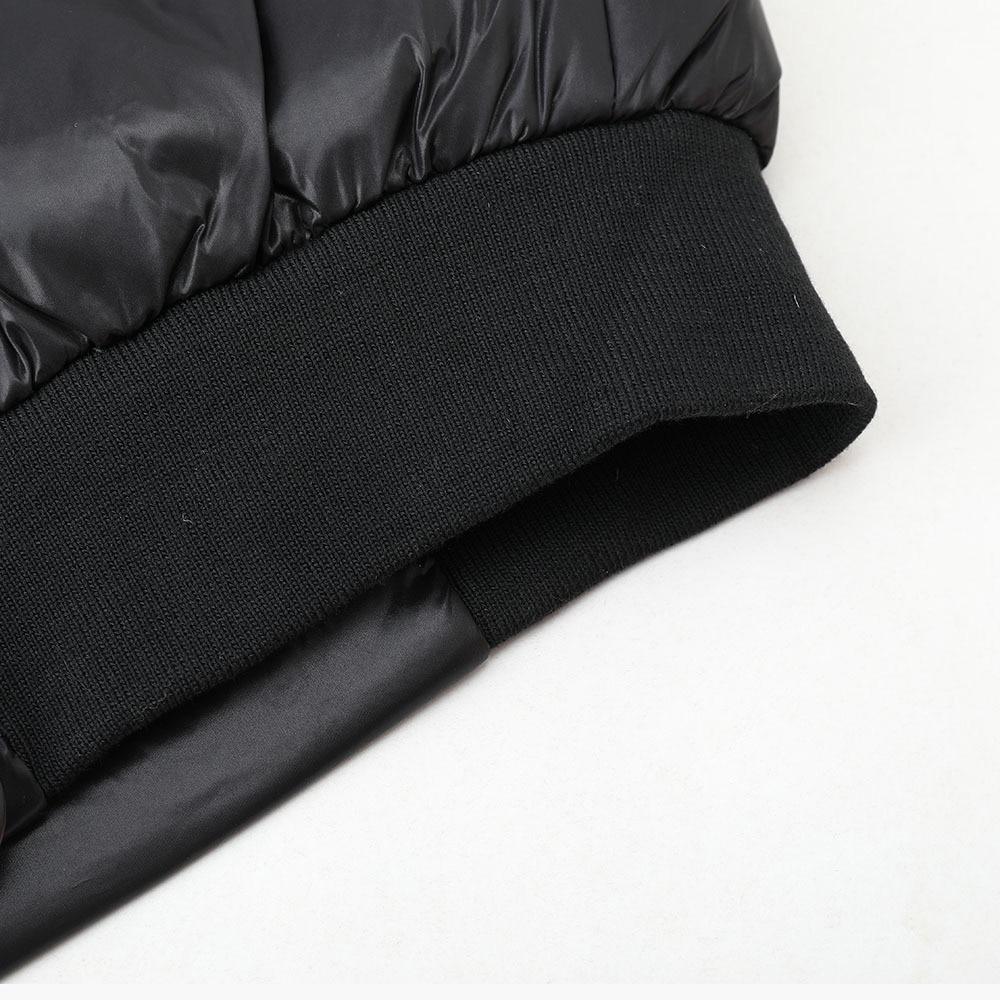 Casual Filles Black Hiver 2018 Vers Éclair Coton Femelle Parkas Femmes Chaud Noir Vêtements Slim Fermeture Outwear Le Fashion Veste Populaire Bas New wfZ418xqS1
