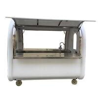 KN 220E фургончик с едой/трейлер/Мороженое Грузовик/закуски тележки заводская цена с бесплатной доставкой по морю