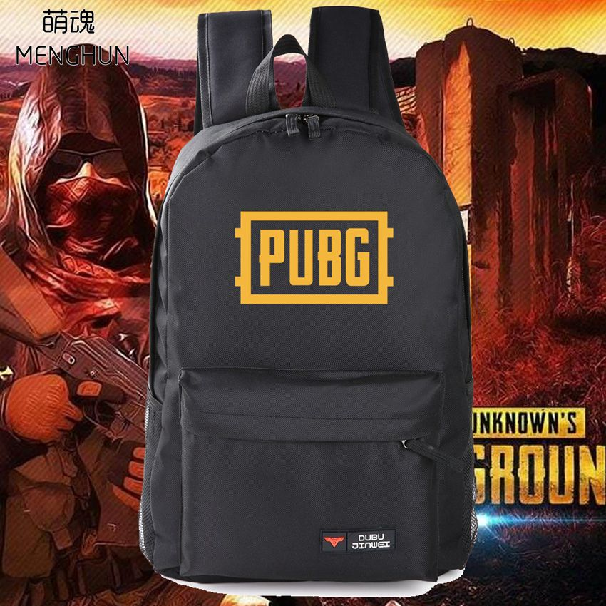цена на new designed game fans backpack PUBG player unknown's battlegrounds game concept nylon high capacity big backpack school bags
