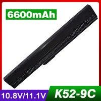 Laptop Battery For ASUS A31 B53 A32 K52 A42 K52 A31 K52 A41 K52 K52L681 K52J