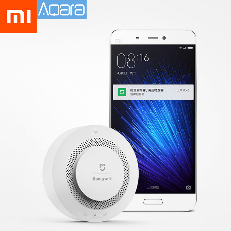 Dynamic Xiaomi Mijia Wireless Fire Protection Smoke Detector Portable Alarm Sensors For Remote Mihome App Smart Control Gas/smoke Alarm Excellent Quality