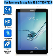 HD 2.5D Tempered Glass For Samsung Galaxy Tab S3 T820 T825 9.7 inch Tablet Screen Protector Protective Flim for SM-T820 9H