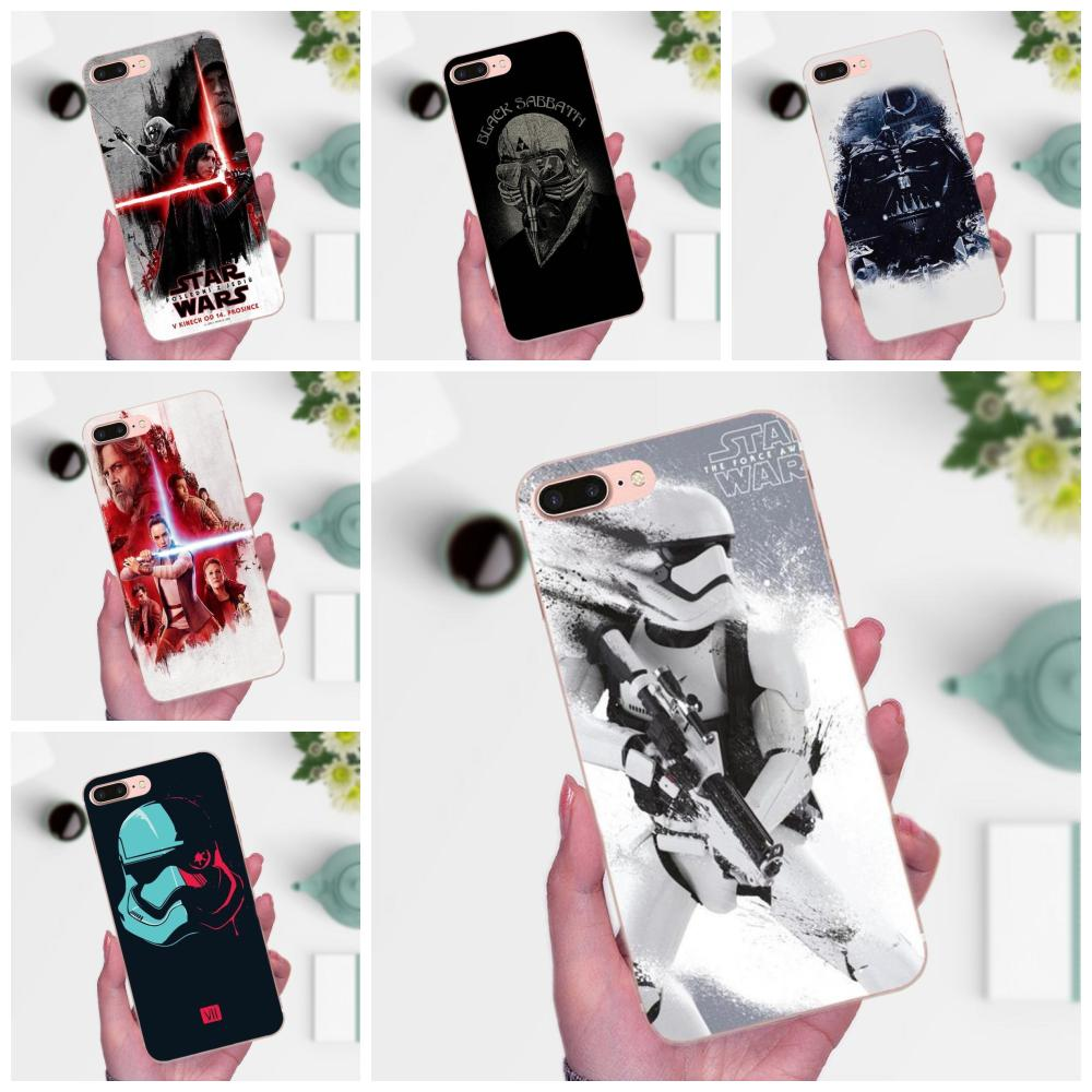 Star Wars The Last Jedi For Huawei P8 P9 P10 P20 P30 Mate 7 8 9 10 20 Lite Plus Pro 2017 Pattern Phone Case image