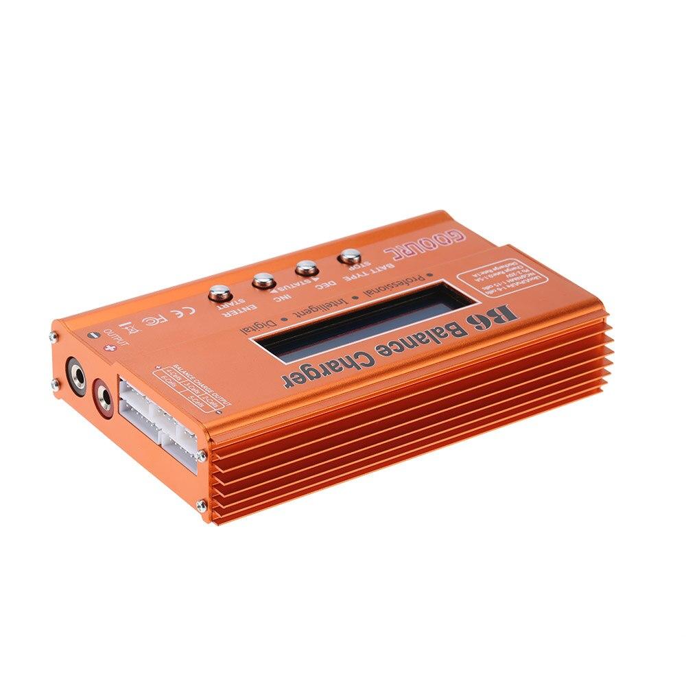 Original GoolRC B6 Mini multifuncional 50 W Balance de la batería del Cargador/descargador para Lilon LiPo LiFe NiCd NiMh pb RC batería