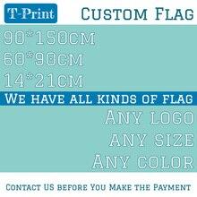 160*240 см, 90*150 см, 60*90 см, пользовательский Футбольный флаг, Прямая поставка, мы проектируем любой размер логотипа, цветной флаг с печатью