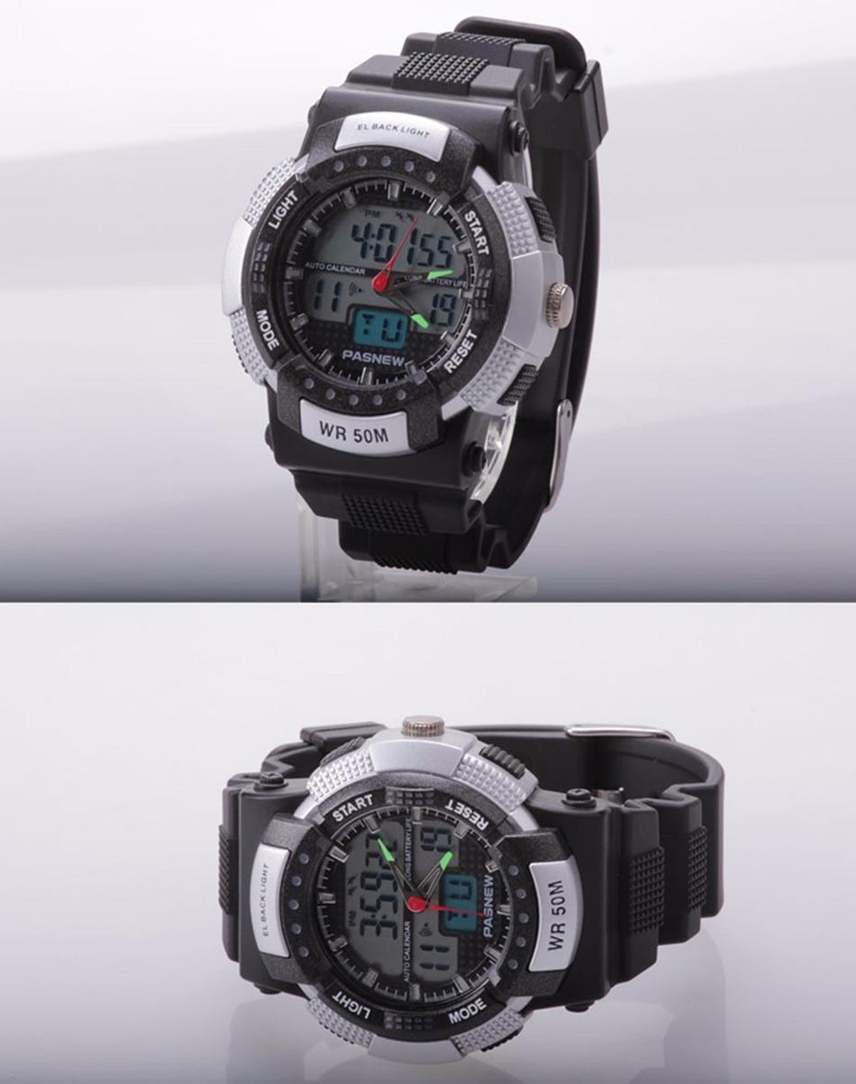 361 - detail - 2018 Free Shipping Fashion Men Watch Waterproof Sport Men Wristwatch S Quartz Digital Boy Clock Relogio Masculino (12)