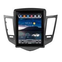 Car Interior Smart big screen 10.4 inch Tesla Style Screen Car GPS Navigation For Chevrolet Cruze 2009 2014 Support Video 4G