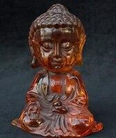 6 Китай Тибетский Буддизм Amber Шакьямуни Амитабха Будды Шакьямуни Статуя Бога